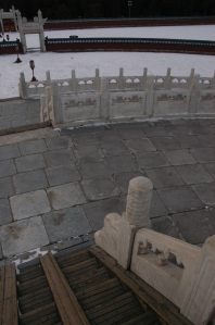 The Circular Mound Altar at Tiantan (the Temple of Heaven), Beijing, midwinter solstice 2012: unique survivor of an ancient tradition.
